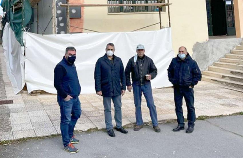 Το Γυμνάσιο - Λύκειο Λεβιδίου επισκέφθηκε  ο Δήμαρχος Τρίπολης κ. Κώστας Τζιούμης