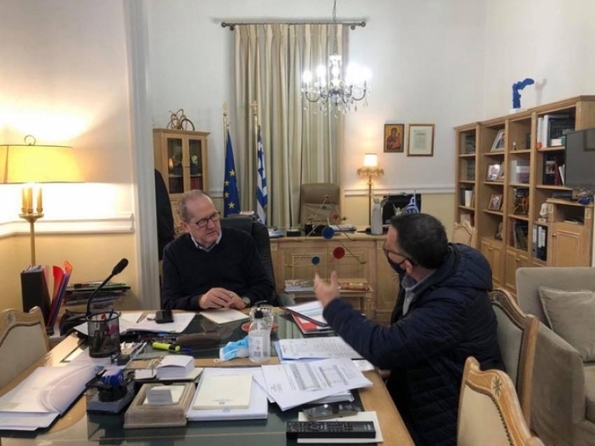 Ελεγχοι στην Τρίπολη για την αποτροπή διάδοσης του νέου κορονοϊού covid-19