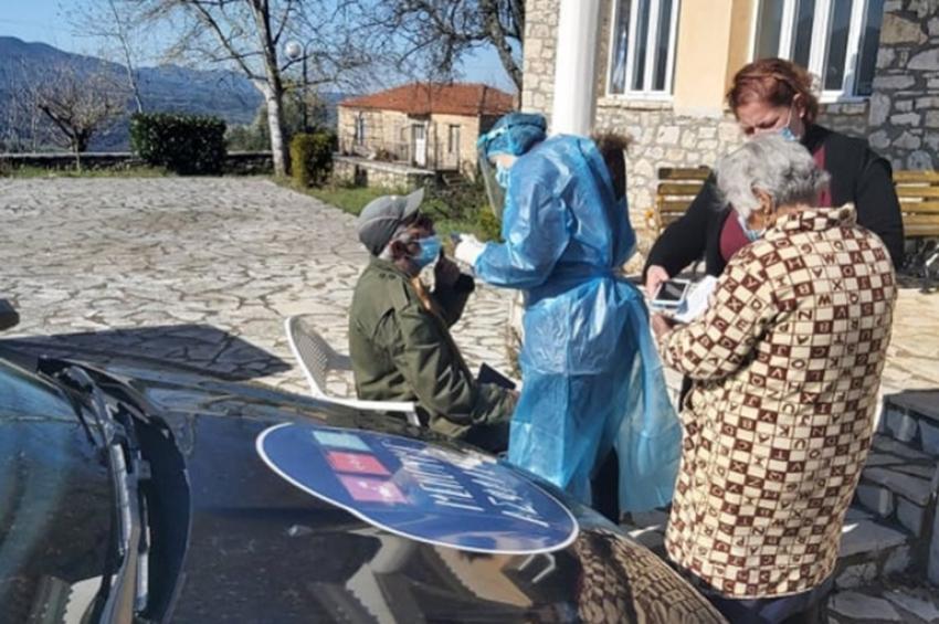 Δημος Γορτυνίας: Βγήκαν τα αποτελέσματα των γρήγορων τεστ για Ηραία και Ριζοσπηλιά