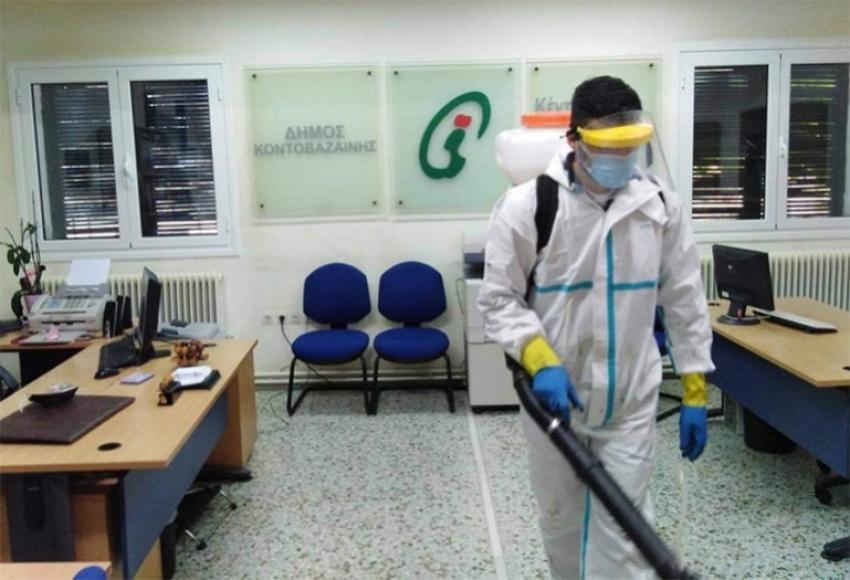 Συνέχεια απολυμάνσεων στις Δημοτικές Ενότητες του Δήμου Γορτυνίας