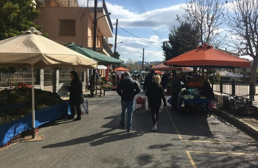Λειτουργία Λαϊκών Αγορών Δήμου Τρίπολης 31/3/2021