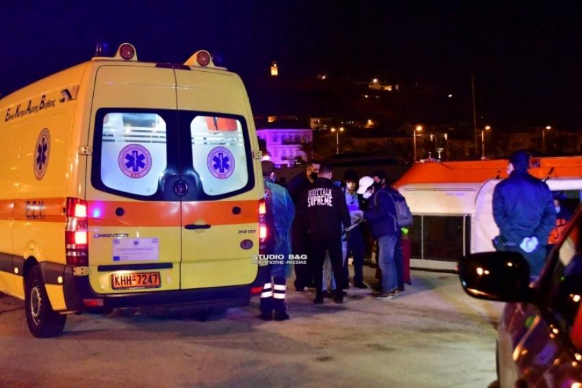 Αργολίδα: Επιχείρηση Λιμεναρχείου και ΕΚΑΒ στο Ναύπλιο για μεταφορά ασθενούς από κρουαζιερόπλοιο