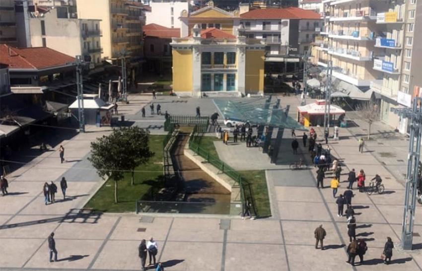 Τρίπολη: Αποτελέσματα rapid test στην πλατεία Πετρινού