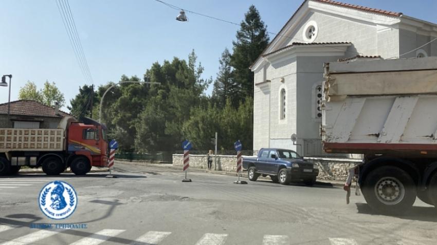 Εργασίες ασφαλτόστρωσης στην Τρίπολη – Σε ποιους δρόμους προβλέπεται διακοπή κυκλοφορίας