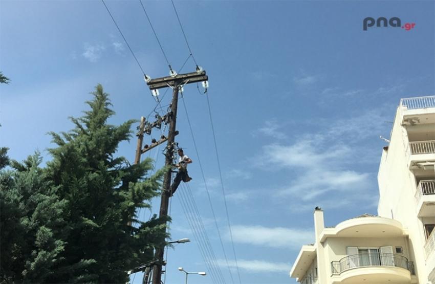 Επαναλαμβανόμενες διακοπές ρεύματος στην Μεγαλόπολη