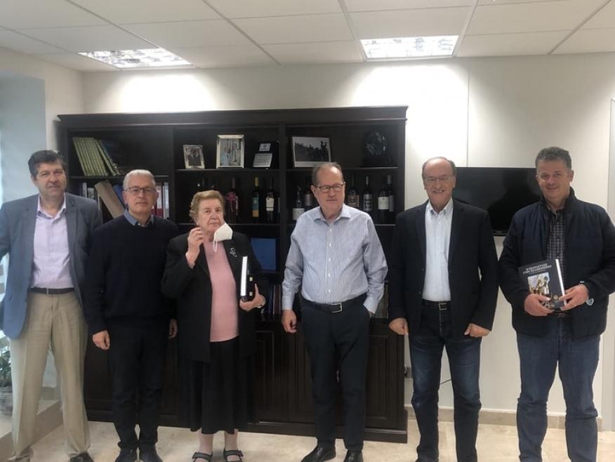 Συνάντηση του περιφερειάρχη Πελοποννήσου με εκπροσώπους φορέων της Δημητσάνας