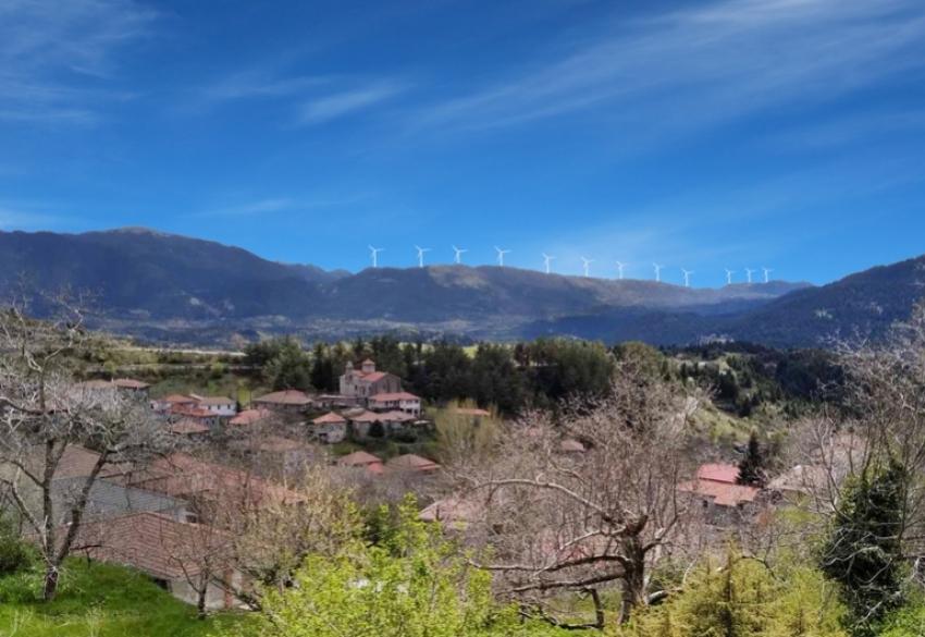 ΣΑΟΟ - ΕΟΣ: Ισχυρό πλήγμα για το περιβάλλον το αιολικό πάρκο στο Κεντρικό Μαίναλο