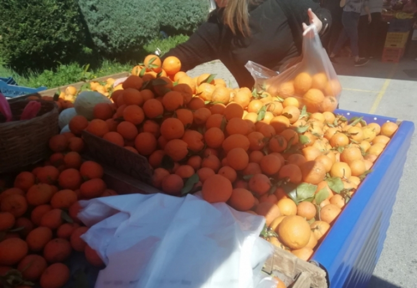Λειτουργία Λαϊκών Αγορών Δήμου Τρίπολης (5/5/2021)