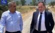 Επίσκεψη Στέλιου Πέτσα και Δήμαρχου Τρίπολης σε έργα αγροτικής οδοποιίας του δήμου Τρίπολης